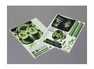 Auto Sticker Foglio Adesivo - Nomura 2010 D1 1/10 Scala