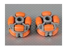 40x28mm plastica Omni Wheel (2Pcs / Bag)
