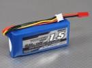 Turnigy 1500mAh 2S 25C Lipoly Batteria