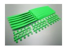 GWS EP Elica (HD-1260 305 x 152mm) verde (6pcs / set)