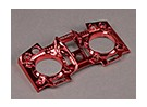 Turnigy 9XR Trasmettitore maschera personalizzata - Red Metallic