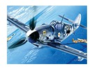Kit Italeri 1/72 Scale Messerschmitt BF-109 G-6 Modello di plastica