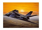 Italeri 1/72 Scale Kit Lockheed F-117A Nighthawk plastica Modello