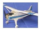 I modelli Parco scala Wisp serie de Havilland Beaver Balsa (Kit)