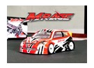 BSR corsa M.RAGE 1/10 4WD M-Chassis (Kit Un-assemblato)