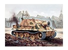Italeri 1/35 Scale Kit RW 61 Auf Sturmmorser Tiger plastica Modello