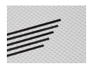 Carbon Striscia 0.5x3x750mm (5pcs / set)