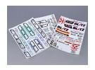 Auto Sticker Foglio Adesivo - Norton 1/10 Scale (3pc)