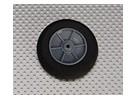 Gomma piuma della luce della rotella Diam: 55, Larghezza: 18,5 millimetri (5pcs / bag)