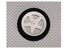 Gomma piuma della luce della rotella Diam: 60, Larghezza: 10mm (5pcs / bag)