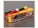 Rhino 2250mAh 14.8V 40C 4S Lipoly Confezione