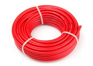 Turnigy High Quality 12AWG Silicone Wire 9m (Red)