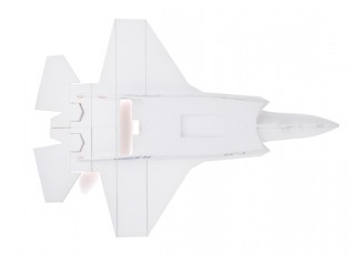 H-King F-35 - Glue-N-Go - Foamboard PP 650mm (Kit) - bottom view