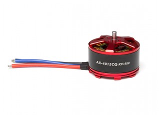 ACK-4015CQ-480KV Brushless Outrunner Motor 4~8S (CCW) - full view