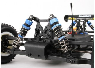 H-King Rattler 1/8 4WD Buggy (RTR) with 60A ESC - front suspension