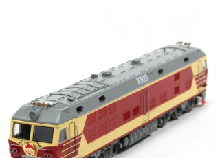 DF4DK Diesel Locomotive HO Scale (DCC Equipped) No.2 4