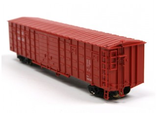 P64K Box Car (Ho Scale - 4 Pack) Rear