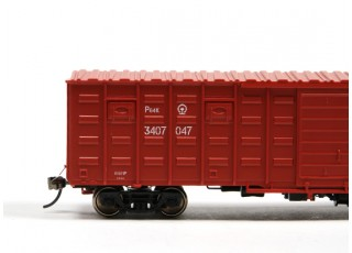 P64K Box Car (Ho Scale - 4 Pack) Detail 1