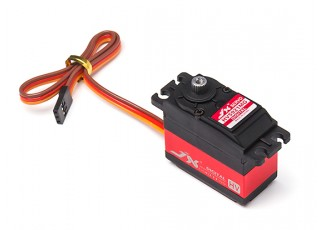 JX PDI-HV5932MG Coreless Metal Gear High Voltage Digital Servo 32.3kg/0.10sec/59.3g with lead