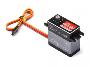 JX BLS6527HV Brushless Metal Gear High Torque Digital Servo 26.7kg/0.086sec/65g with lead