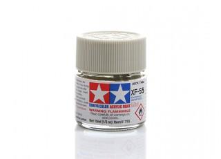 Tamiya XF-55 Flat Deck Tan Grey Mini Acrylic Paint (10ml)
