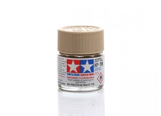 Tamiya XF-78 Flat Wooden Deck Tan Mini Acrylic Paint (10ml)