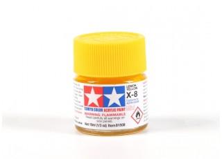 Tamiya X8 Gloss Lemon Yellow Acrylic Paint (10ml)
