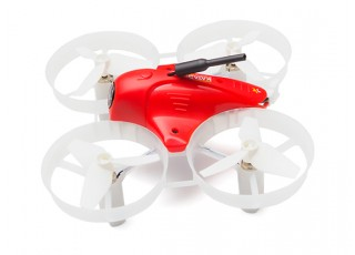 Cheerson CX-95S FPV Drone (DSM2/DSMX) BNF (Red) - side view