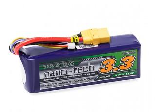 Turnigy nano-tech 3300mAh 4S 65~130C Lipo Pack w/XT-90