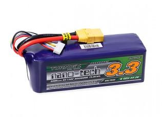 Turnigy nano-tech 3300mAh 6S 65~130C Lipo Pack w/XT-90