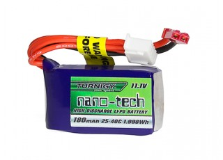 Turnigy nano-tech 180mAh 3S 25~40C Lipo Pack