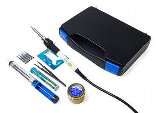Turnigy 947-III Portable Electric Soldering Iron Set (UK plug) - components