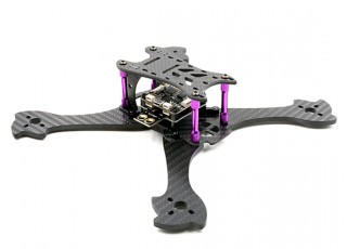GEP - Mark1 210mm FPV Racing Drone Frame Kit - side view