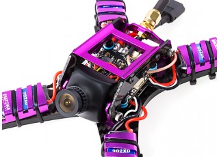 Diatone 2017 GT200S FPV Racing Drone PNF (Violet) View 4