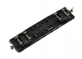 NX17K Flat Car (HO Scale - 4 Pack) Set 1 running gear