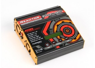 Turnigy Reaktor 300W 20A AC/DC Synchronous Balance Charger now with NiZN and LiHV (EU Plug)