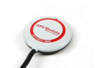SCRATCH/DENT - Mini Ublox NEO-M8N GPS for CC3D Revolution (Cleanflight Firmware)