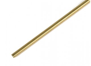 """K&S Precision Metals Brass Rod 1/8"""" x 36"""" (Qty 1)"""