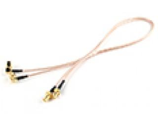 SMA Plug < - > SMA Jack 500mm RG316 Extension (2pcs/set) Small