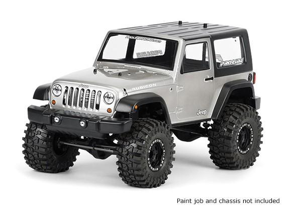 Pro-Line 1/10 Шкала Jeep Wrangler Unlimited Rubicon Clear Body для Monster Trucks / Краулеров