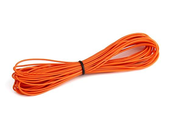 Turnigy High Quality 26AWG Silicone Wire 10m (Orange)