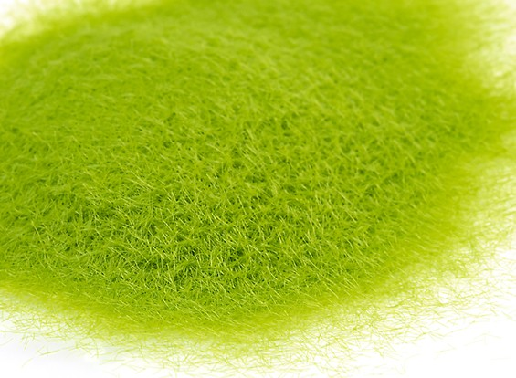 3mm Static Grass Flock - Medium Green (250g)