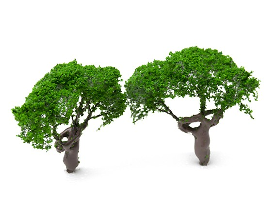 HobbyKing™ 80mm Scenic Wire Model Trees (2 pcs)