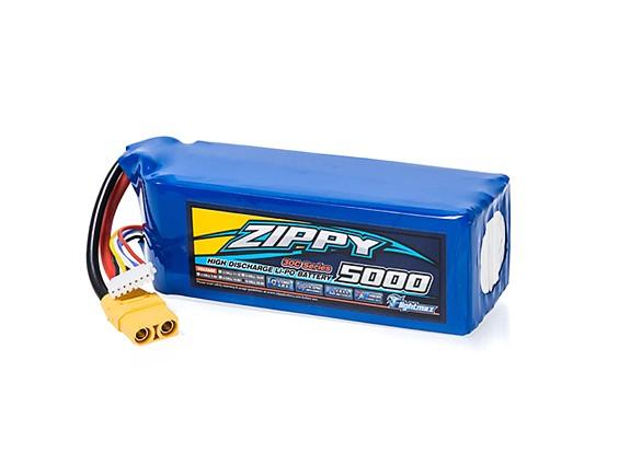 ZIPPY Flightmax 5000mAh 6S1P 30C With XT90