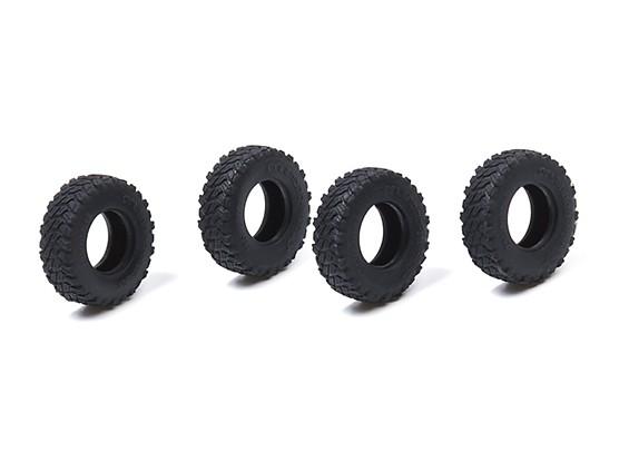 Orlandoo OH32A02 4WD 1/35 Pajero Crawler - Small Block Tires (4pcs)
