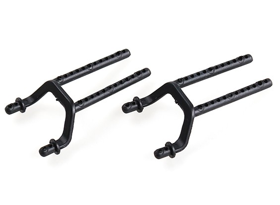 WL Toys K989 1:28 Scale Rally Car - Replacement Rear Body Mount K989-51 (2pc)