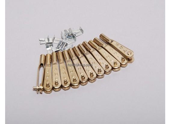 Двенадцать 2-56 Gold-N-вилок