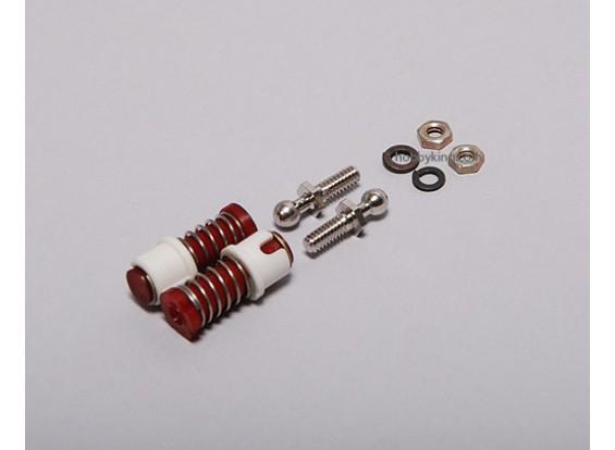 R / C автомобиля шаровой шарнир W / фиксирующую втулку 3 мм