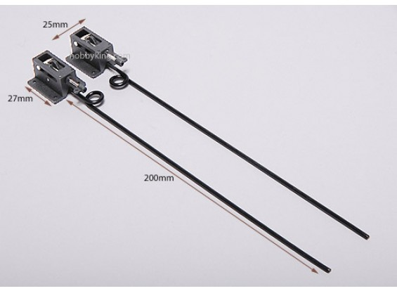 Пластиковые механические Ретракты D2.5 * L130mm