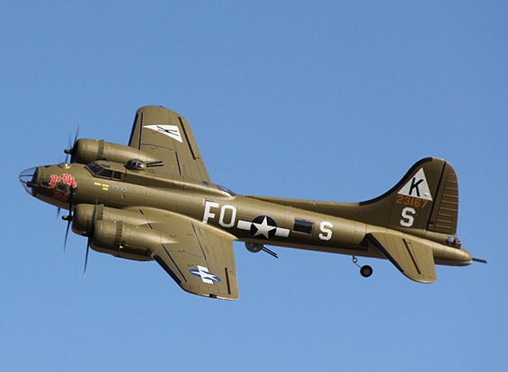 Hobbyking 1875mm B-17 F / G Flying Fortress (V2) PnP (Olive)